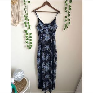 Nikibiki Blue Floral Maxi Dress